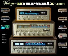 Vintage Marantz You can see almost all of them !