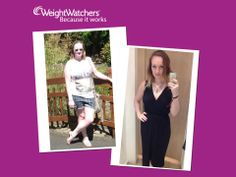 Kelly has been maintaining for 4 months now after successfully losing 21lb, Kelly attend's Bev's meeting with her mom every week.  To find Bev's or another local meeting go to http://www.weightwatcherslocal.co.uk/leader/12545/Beverley-Longsden/St%20Johns%20Methodist%20Church%20Hall/774745