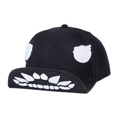 Kantai Collection embroidered baseball cap for teens black folding cap