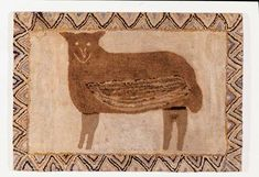 Antiques & Fine Art - Olde Hope Antiques Inc. - Sheep Rug