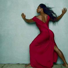 Haute 100 Miami: Serena Williams Poses for Annie Leibovitz in April Vogue