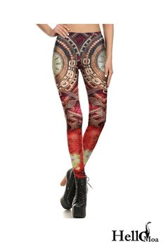 Designed with premium high quality material, Light-weight, flexible and move with you every step. Ankle Length Leggings, Yoga Leggings, Workout Leggings, Steampunk Leggings, Colour Images, Custom Made, Must Haves, Compliments, Thighs