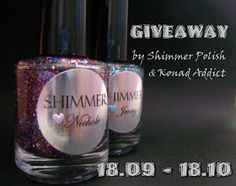 Konad Addict: Shimmer Polish giveaway