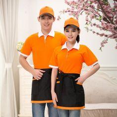 Waiter Uniform, Hotel Uniform, Restaurant Uniforms, Corporate Uniforms, Chef Apron, Bandana, Contrast Collar, Dress Collection, Mac