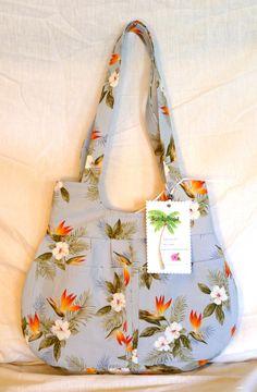 Hawaiian fabric purse.. $19.99, via Etsy.