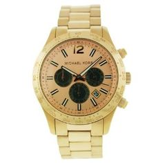 Men's Rose Gold Tone Quartz Date Chronograph Link Bracelet-- 20% DISCOUNT for a limited time!