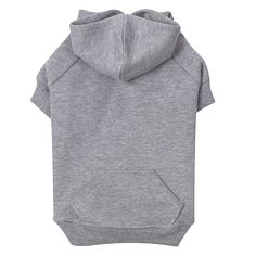 Fancy - Basic Grey Dog Hoodie