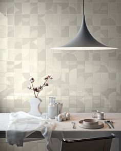 Tiles For Sale - Tilespace offers an unrivaled selection of exclusive, beautifully imported brands specialising in tiles, sanitary ware, taps and fittings. Monochrome Wall, Interior, Tiles, White Tiles, House Tiles, Luxury Tile, White Decor, Round Mirror Bathroom, Tiles For Sale