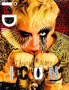 London-based illustrator Hattie Stewart reinterprets magazine covers - i D magazine