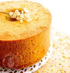 Osmanthus chiffon cake
