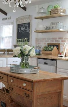 Cabinet Ideas Kitchen - CLICK THE PIN for Many Kitchen Cabinet Ideas. 68694535 #kitchencabinets #kitchenstorage
