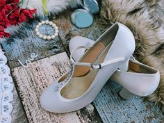 Classic and comfortable, Frankie by Rainbow Club Couture offer a vintage elegance lasting comfort  Wedding shoes bridal fashion custom shoe service available Women's Closed Toe Pumps jewel Mary Jane T Bar Block Heel Stiletto Heel Satin Rhinestone Wedding Shoes Rhinestone Wedding Shoes, Bridal Shoes, Special Occasion Shoes, Bridal Fashion, Custom Shoes, Bridal Style, Wedding Accessories, Block Heels, Character Shoes