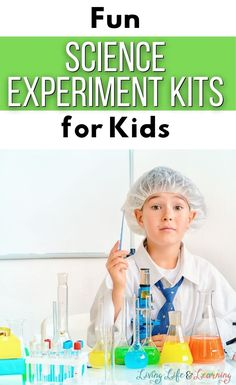Ready for this list of cool science experiment kids for kids? Science kits are the perfect gift to give to kids for holidays and birthdays. They also make a fun and educational hands-on toy that they are sure to have fun with as they are learning about the amazing world of science. Help your child love learning about science by adding these to any of your science lessons.