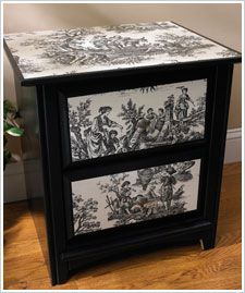 decoupage ideas for furniture. How To Decoupage Furniture- A Great Way Spruce Up Thrift Store Find! \u003e\u003eNYC Discount Diva Http://stores.ebay.com/NYC-Discount-Diva | Share Today\u0027s Craft Ideas For Furniture