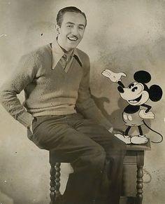 Walter Elias Disney. December 5, 1901 - December 15, 1966.