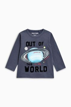 Buy Navy Planet Long Sleeve T-Shirt (3mths-6yrs) from the Next UK online shop