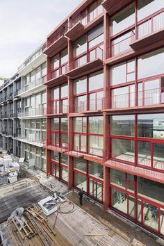 School Architecture, Urban Planning, Balconies, Lofts, Ark, Apartments, Netherlands, The Row, Amsterdam