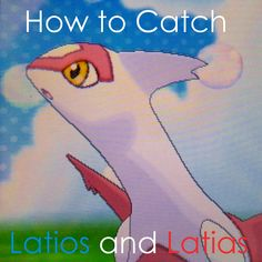 Learn how and where to capture #Latios and #Latias in the #Pokemon games, with advice on what Pokeballs and moves to use.