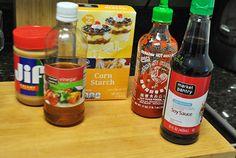 Homemade Stir Fry Sauce Ingredients