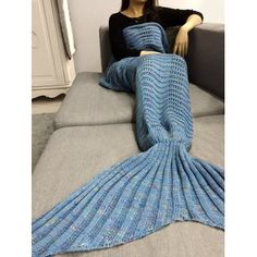 SHARE & Get it FREE | Hollow Out Crochet Knit Wave Striped Mermaid Blanket ThrowFor Fashion Lovers only:80,000+ Items·FREE SHIPPING Join Dresslily: Get YOUR $50 NOW!
