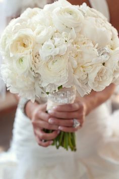 Bouquet with some bling by Blue Bouquet, via Flickr