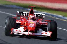 2001 Ferrari F2001 (M. Schumacher/R. Barrichello)