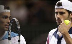 Masters Londra 2015: diretta tv, streaming e risultato LIVE del doppio di Bolelli-Fognini La coppia azzurra Bolelli-Fognini inaugura le Atp Finals di Londra 2015, in programma da oggi domenica 15 novembre. Il match di doppio apre il Masters, con i due italiani che incroceranno la coppia f #tennis #bolelli #fognini