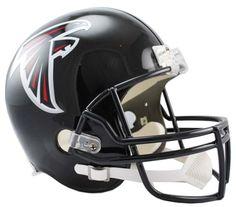 "Atlanta Falcons NFL Riddell Full Size Deluxe Replica Football Helmet: ""Start a collection of Atlanta… #Sport #Football #Rugby #IceHockey"