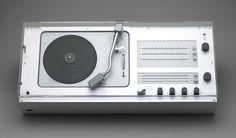 Dieter Rams. Audio 1 Radio-Phonograph (model TC 40). 1962