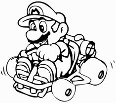 super mario brothers coloring pages free printable - Free Printable Coloring