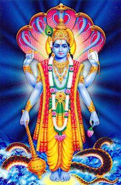 Lord Vishnu Image