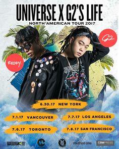 #Reddy & #G2 North American Tour  630 http://e.sparxo.com/reddyg2ny 701 http://reddyg2vancouver.eventbrite.ca 706 TBA 5/30  707 http://e.sparxo.com/reddyg2la 708 http://e.sparxo.com/reddyg2sf  Tickets go live 5/16 Tuesday 9am PST #reddy #g2 #sanfrancisco #losangeles #newyork #vancouver #toronto #레디 #지투 #뉴욕 #벤쿠버 #토론토 #엘에이 #샌프란