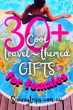 30+ Cool Travel-Themed Gifts For Females 36 Road Trip Packing, Packing List For Travel, Best Travel Gifts, Australian Gifts, Christmas Travel, Christmas Holidays, Venice Travel, Travel Souvenirs, Travel Destinations