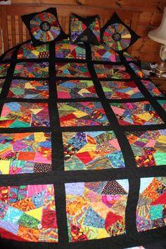 Crazy Quilt Block Quilt