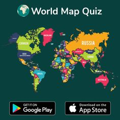 With World Map Quiz app you can enjoy learning locations of all countries around the World. Download now! World Map Quiz, Geography Quiz, United Kingdom Map, Map Games, Countries, Knowledge, App, Learning, Studying