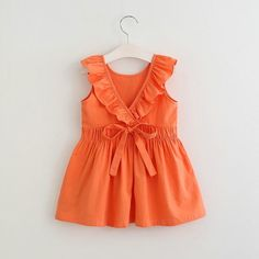 Sewing Dresses * Pleated waist<br /> * Ruffled design<br /> * Material: Cotton, Others<br /> * Machine wash, tumble dry<br /> * Imported - Toddler Flower Girl Dresses, Baby Girl Dress Patterns, Little Girl Dresses, Baby Dress, Girls Dresses, Summer Dresses, Flower Girls, Baby Girl Fashion, Kids Fashion