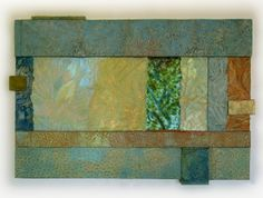 Priscilla Robinson: handmade paper and fused glass