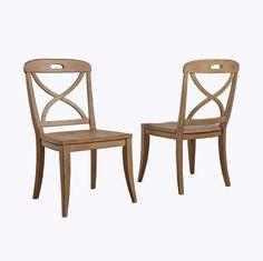 Millbrook X-Back Side Chair (Set of 2)