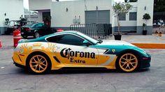 Corona's car