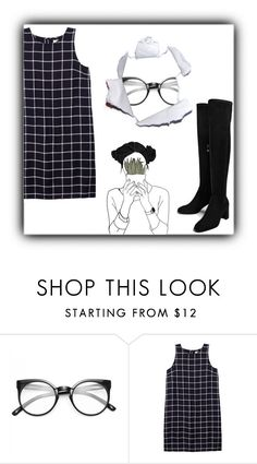 """""""too long"""" by menskah ❤ liked on Polyvore featuring Olive + Oak and Boots"""