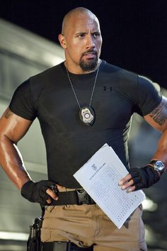 mmmmm.... Dwayne Johnson!