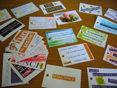 Affirmation Cards.  Who could not use a little injection of positivity in their day!