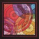 Mosaic Cirlces quilt