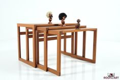 Fine danish Nest of Tables in Teak