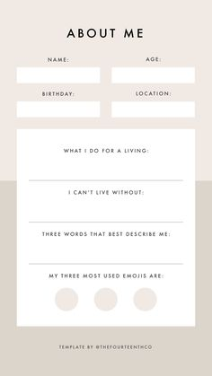 Instagram Story Template Questions / About Me Snapchat Questions, Instagram Story Questions, Instagram Story Ideas, Instagram Challenge, Mood Instagram, Instagram Frame, Bingo Template, Certificate Design Template, About Me Template
