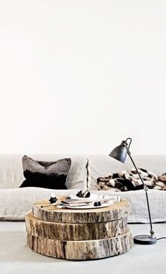 What a coffee table! Great conversation starter and modern/chic way to spruce up a living room!