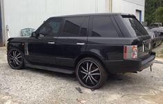 2003 Land Rover Range Rover Black Metallic with grey interior. 109,192 miles.