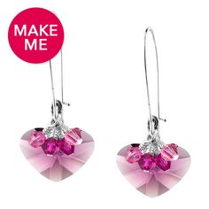I am Crazy 4 U Earrings