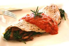 Organic Passion: Sprouted Buckwheat Pancakes - Savoury or Sweet.