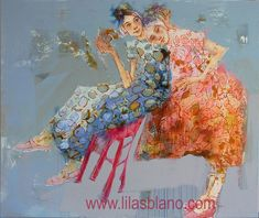 """Saatchi Art is pleased to offer the painting, """"Trône Et Couronnes,"""" by LILAS BLANO. Original Painting: Acrylic, Pastel, Oil on Canvas. Site Officiel, Mixed Media Collage, Figure Painting, Figurative Art, Art Reference, Oil On Canvas, Saatchi Art, Moose Art, Original Paintings"""